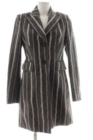 St. emile Manteau en laine motif rayé style d'affaires