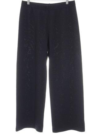 St. John Woolen Trousers dark blue simple style