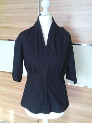 St- martins Bluse in schwarz