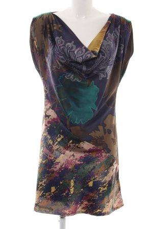 St-martins Blusenkleid abstraktes Muster Elegant