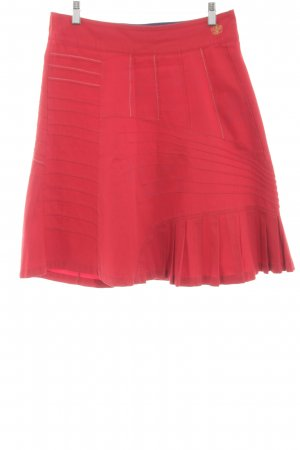 St-martins Godet Skirt red casual look