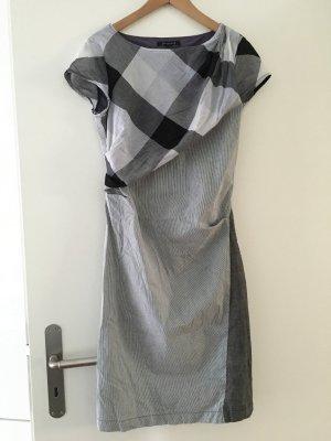 St Martins Kleid 38 Sommer grau schwarz weiss