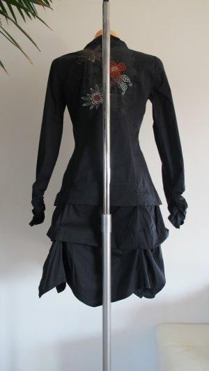 """""""St-Martins"""" Kleid mit Stickerei, dunkelblau, Gr. S NP ca. 300,-€ !!"""