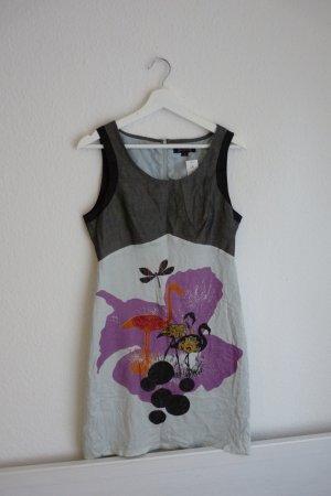 St-Martins Kleid S 36 *NEU* Animalprint Flamingo verspielt Blogger Fashion
