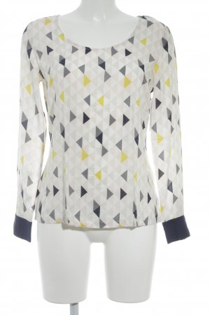 St-martins Langarm-Bluse grafisches Muster Casual-Look