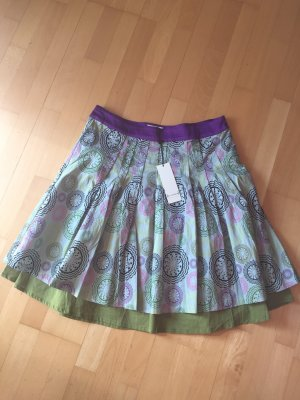 St-martins Flared Skirt green-blue violet