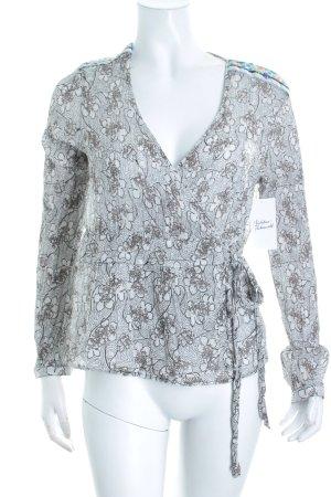St-martins Wickel-Bluse florales Muster Romantik-Look