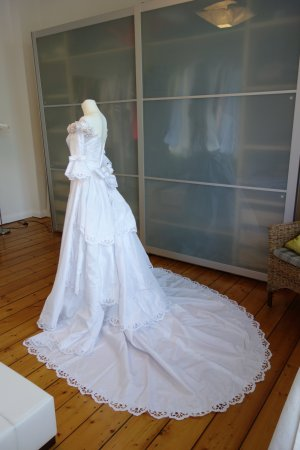 Pronovias Wedding Dress white polyester