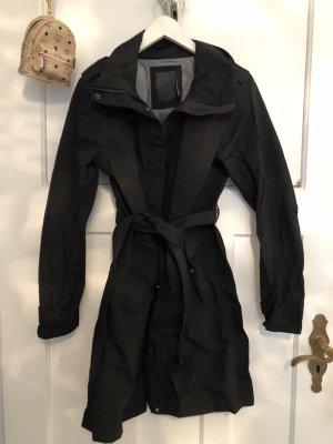 Heavy Raincoat black