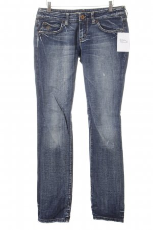 Staff & Co Slim Jeans blau Casual-Look