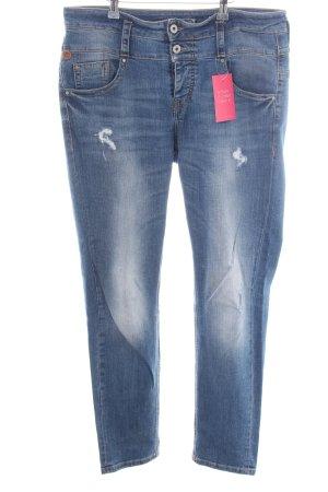 c00844ab0c3f Staff Jeans Boyfriendjeans blau Casual-Look