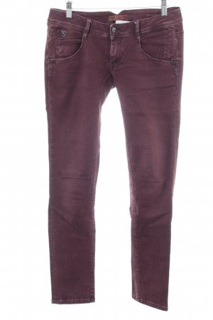 Staff Jeans Slim Jeans lila Casual-Look