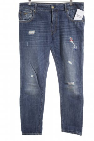 "Staff Jeans Straight-Leg Jeans ""Brenda"" blau"