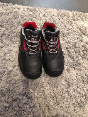Sneakers zwart-rood