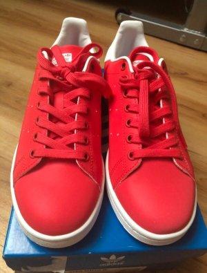 Adidas Sneaker rosso neon