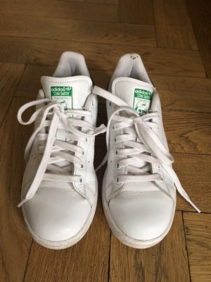 Stan Smith Adidas Sneaker weiß + Metallic /grün Gr. 38
