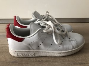 Stan Smith mit Fell hinten