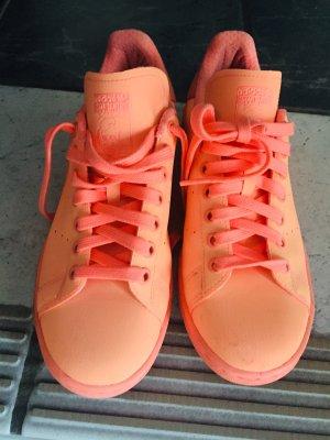 adidas stan smith Lace-Up Sneaker neon orange