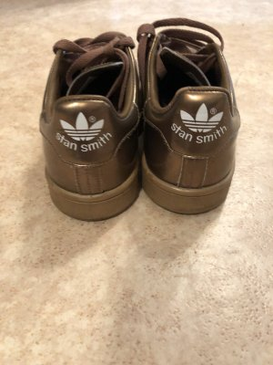 adidas stan smith Lace-Up Sneaker bronze-colored