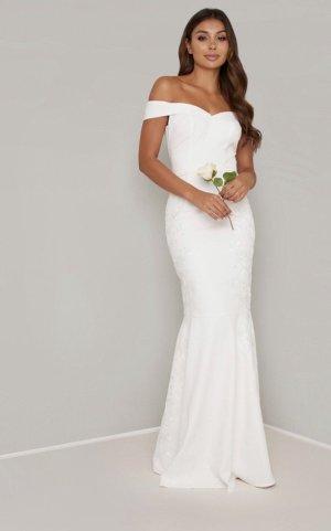 Chi Chi London Wedding Dress white