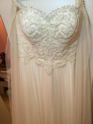 Abito da sposa bianco Tessuto misto