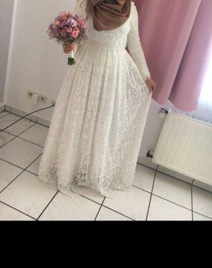 Asos Abito da sposa bianco-crema
