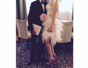 Standesamtkleid Hochzeit ivory 34-38