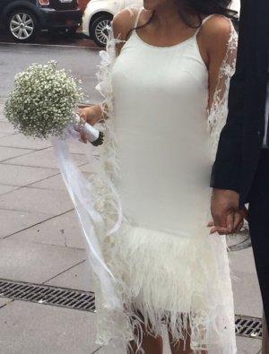 Standesamtkleid in weiß
