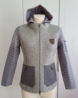 Stapf Wool Jacket silver-colored-grey