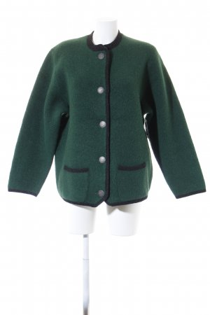 Stapf Traditional Jacket forest green-dark grey classic style