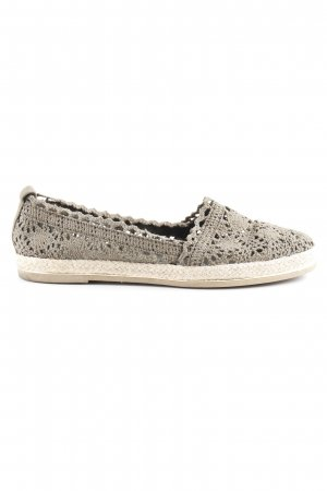 Star Collection Ballerinas mit Spitze khaki Casual-Look