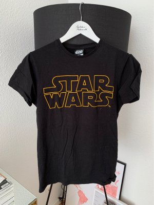 Star Wars Print Shirt Black Fashionlook Movie