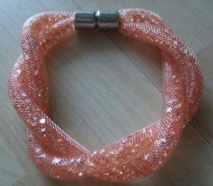 Bracelet apricot-salmon