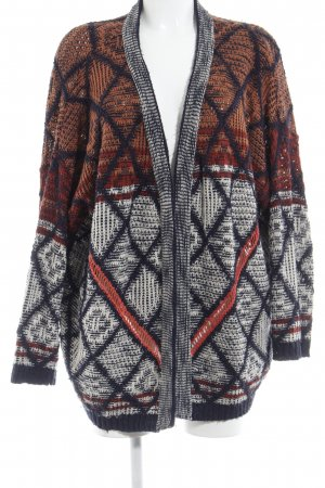 Staring at Stars Strickblazer grafisches Muster Boho-Look