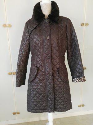Concept K Abrigo acolchado marrón