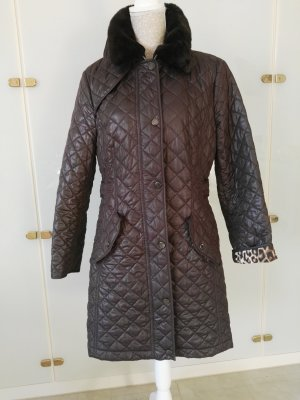 Concept K Quilted Coat brown