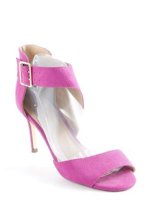 Starlet Sandalo con cinturino e tacco alto viola elegante