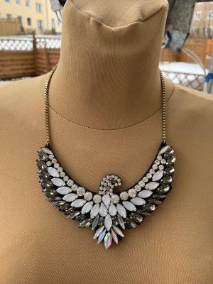 Bijou Brigitte Statement Necklace silver-colored