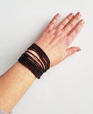 Pearl Bracelet bronze-colored
