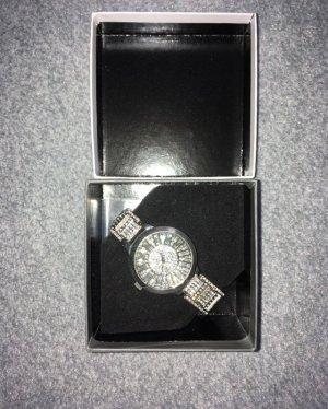Bijou Brigitte Horloge met metalen riempje zilver