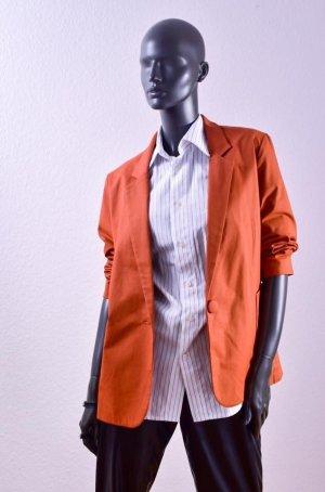 Irina Zakelijk pak donker oranje-roodbruin