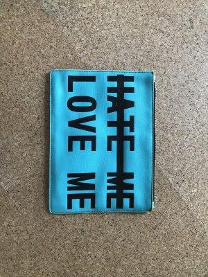 Zara Pochette turquoise
