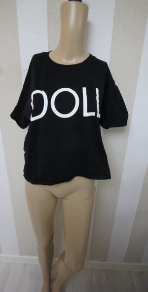 STATEMENT CROP TOP SHIRT DOLL GR L