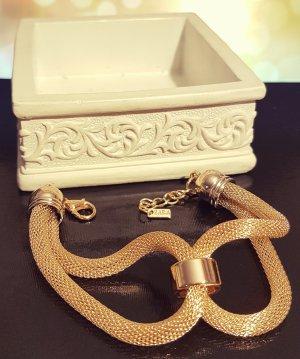 Statement gold Schlangenarmband, verflechtet, elegant, Blogger, Zara, Neu