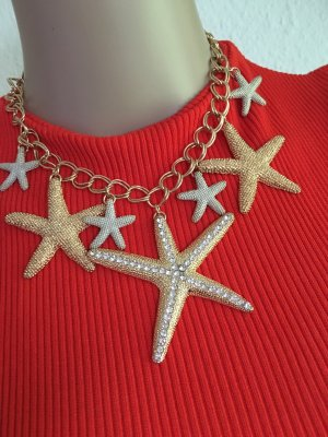 H&M Statement Necklace gold-colored