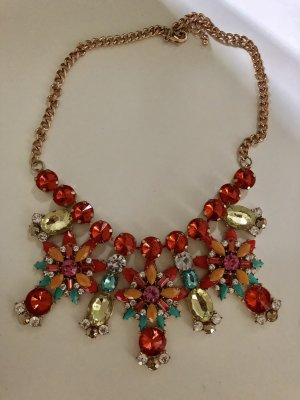 Statement-Kette bunt