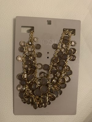 Collier Necklace beige-gold-colored