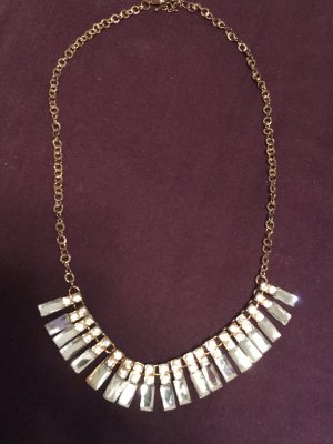 Collier Necklace silver-colored-bronze-colored