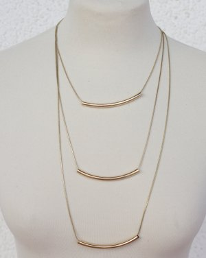 Statement Kette goldfarbener Kette