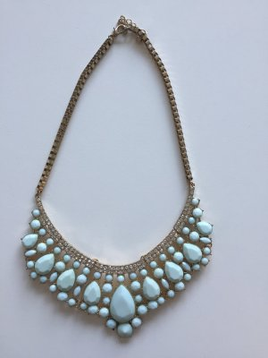 Statement-Kette in Gold und Mint